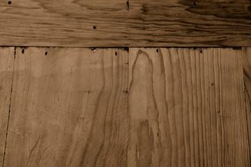 altes Holz  als Hintergrund braun
