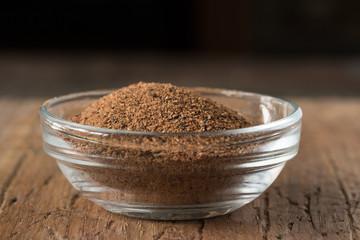 Ground Nutmeg in an ingredient bowl