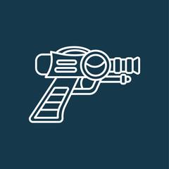 Space Laser Ray Gun. Gun toy