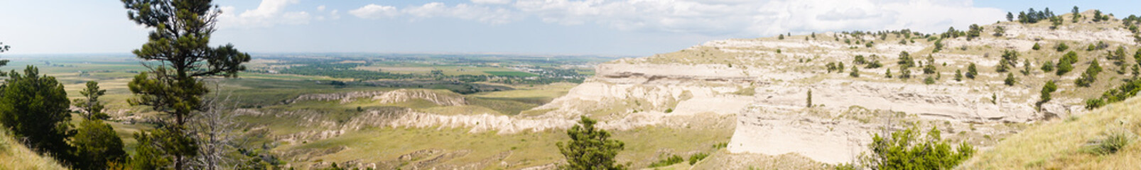 Scotts Bluff National Landmark West Oregon Trail Nebraska