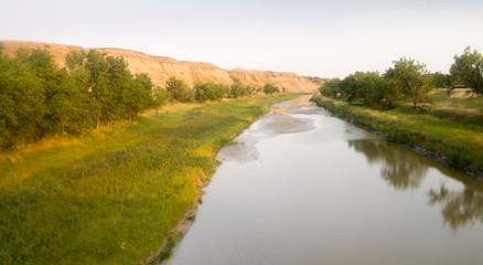 Little Missouri River Montana North America USA
