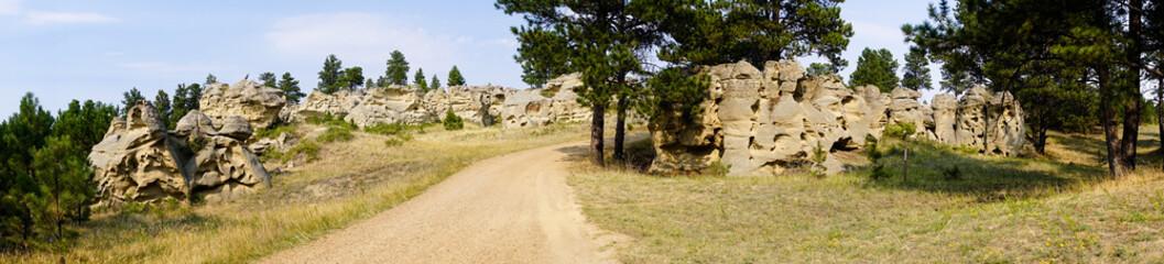 Medicine Rocks State Park Ekalaka MT Montana Landscape