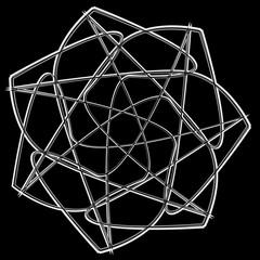 Cosmic geometry astrological star pattern symbols