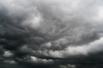 Storm clouds in the sky. Abstract background