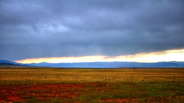 Over The Wyoming Landscape