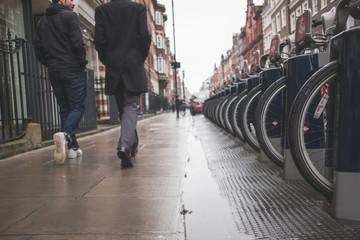 Strolling Rainy London