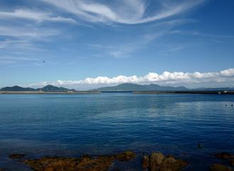 宗像大島から見る海