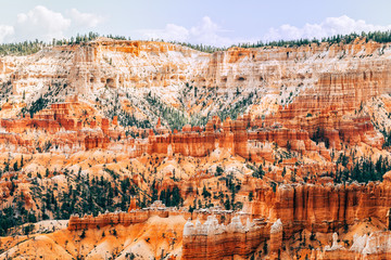 amazing view of bryce canyon national park, utah