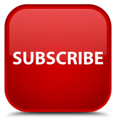 Subscribe special red square button