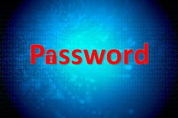 password computer screen