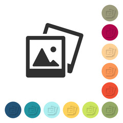 Farbige Buttons - Fotoalbum