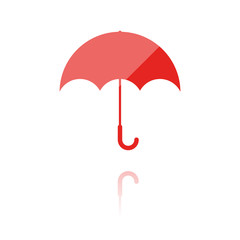 Farbiges Symbol - Regenschirm