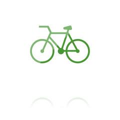farbiges Symbol - Fahrrad