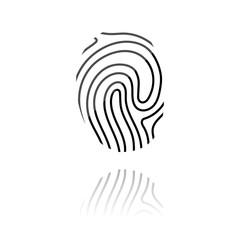 farbiges Symbol - Identitäts-Symbol