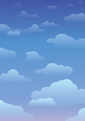 Cloudy sky background 12.