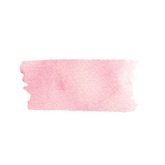 Vector hand painted pink texture isolated on the white background for your design. Usable for cards, wedding invitations and more.