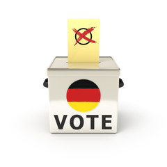 ballot box german election