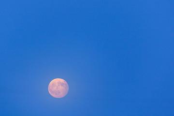 Full moon rise at Algarve,