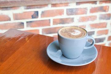 Coffee cup,.cup of coffee on table in cafe,coffee cup background