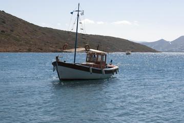 Fishing boat. Crete, Greece.