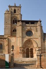 Santa Maria la Real church, Sasamon, Leon province, Spain