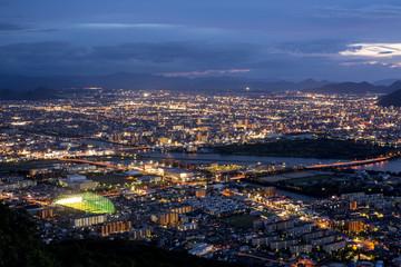 香川の夜景