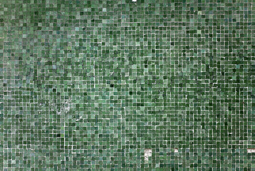 Texture Stone Wall Background Ground Flat pattern mosaic tile raster square quad Rough Dirty Grunge Dark Spot Green Jade Lines Strokes Close Up Art Handmade DIY Bath Spa Fashion Ad mediterranean suite