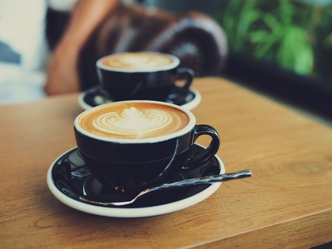 coffee in cafe coffee shop
