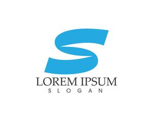 Business corporate letter S logo design vector
