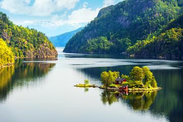 Obraz Breathtaking view of small island - fototapety do salonu