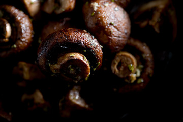 Roasted Crimini Mushrooms