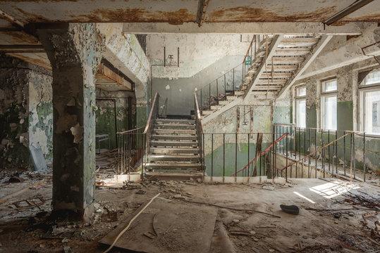 Staircase Chernobyl