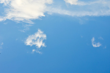 clouds in the blue sky,blue sky background with tiny clouds,Blue sky