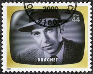 USA - 2009: shows Dragnet, detectiv, Early TV Memory