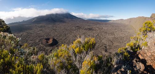 Volcano Piton de la Fournaise, La Reunion, France
