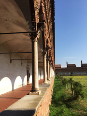 Tuinposter Monument La Certosa di Pavia