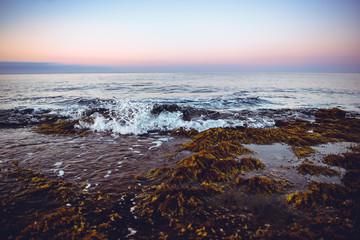 The Spanish Coastline, shot in the early sunrise. Alicante, Spain.