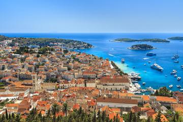 Fototapeta Chorwacja, punkt widokowy na wyspie Hvar obraz