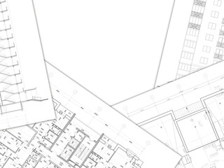Architectural drawing- background