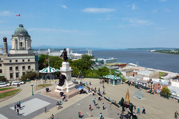 Quebec Waterfront 1