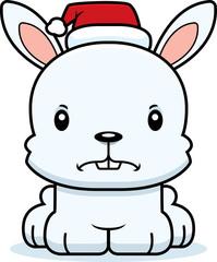 Cartoon Angry Xmas Bunny