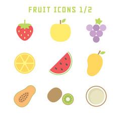 fruit icons one