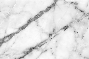 black and white natural marble pattern texture background