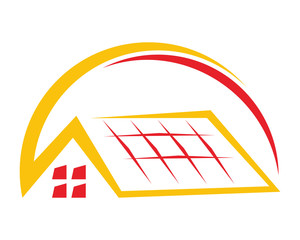 roof tile home house residential architect image icon vector