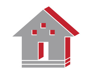 home house residence architecture building icon image vector