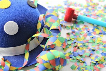 An Image of a Party celebration - colorful