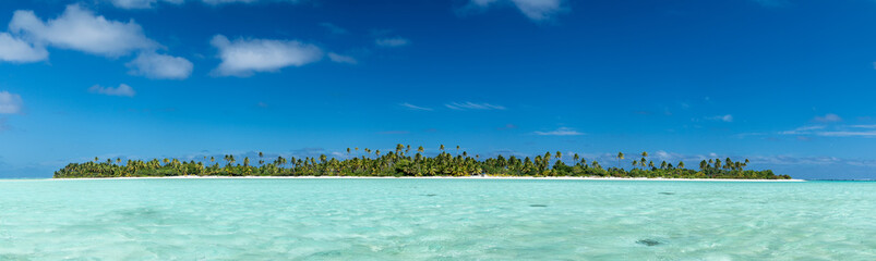 Aitutaki Polynesia Cook Island tropical paradise view