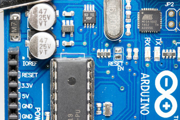 Details of Arduino board