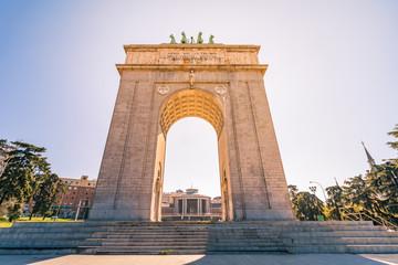 Madrid, Arco de la Victoria