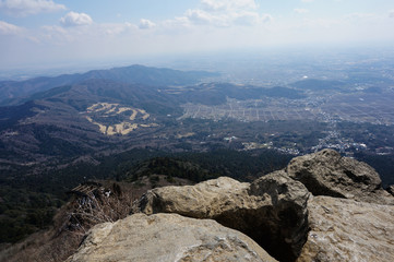 筑波山山頂パノラマ